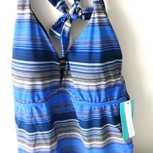 NWT bathing suit tank top size 1X